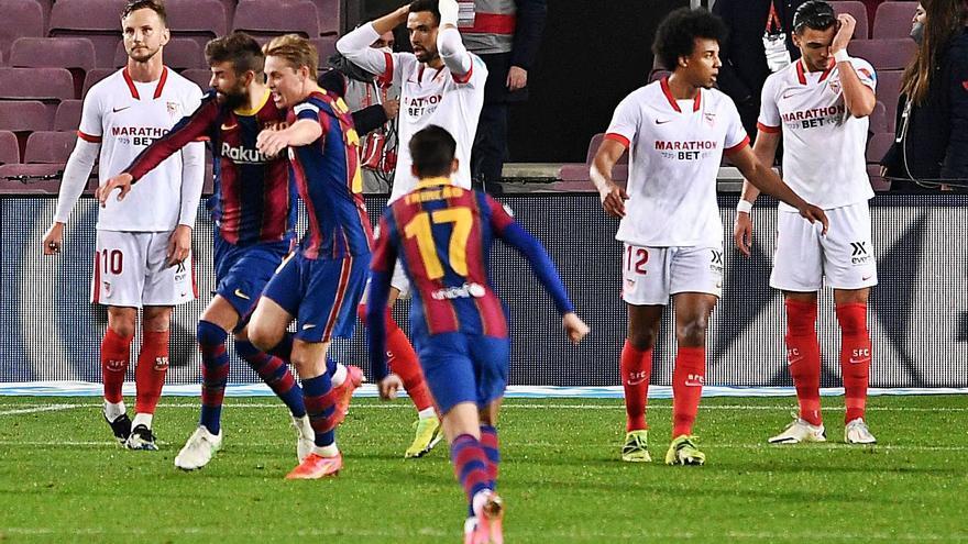 El CSD ajorna el partit entre el Sevilla i el Barça