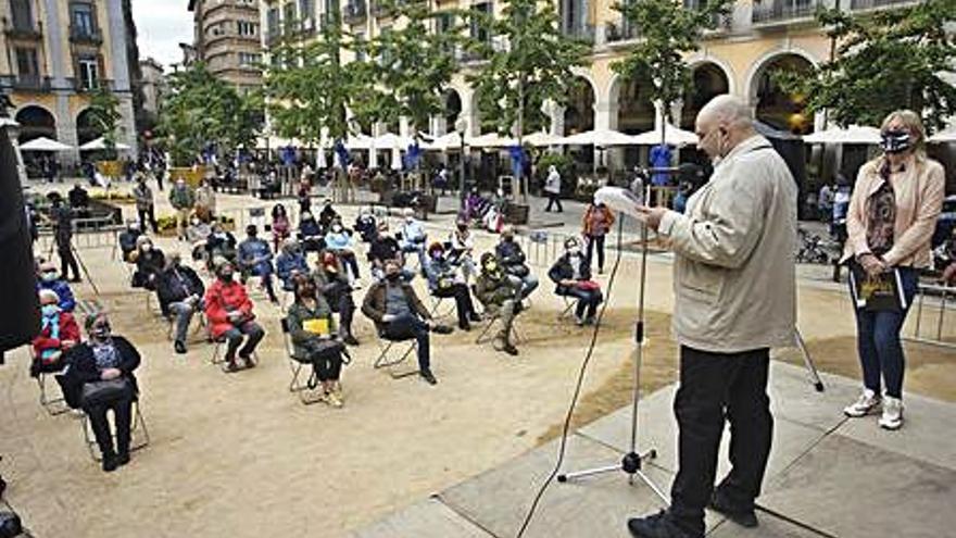Cinquanta persones a les «Pinzellades de Llibertat»
