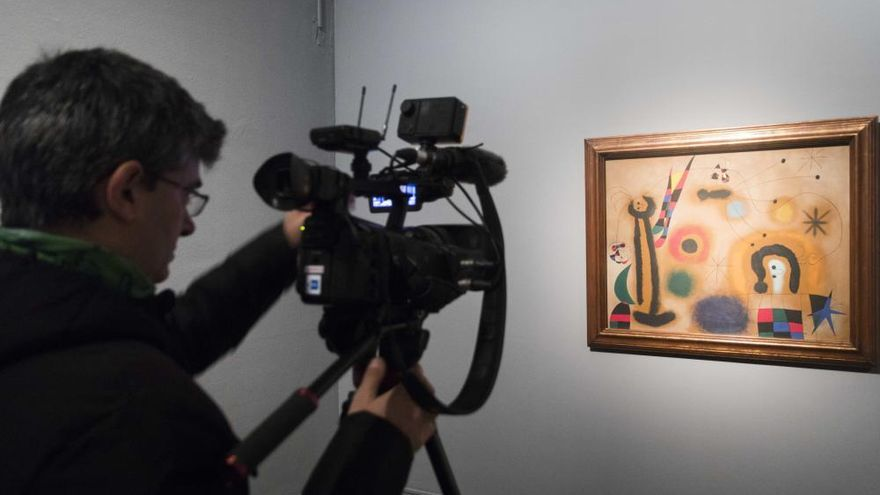 """El Miró """"más radical"""" se instala en el IVAM"""