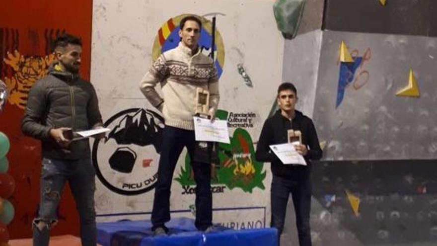 Emilio Martínez Vallina y Candela García Vallina, ganadores de la Copa Asturias