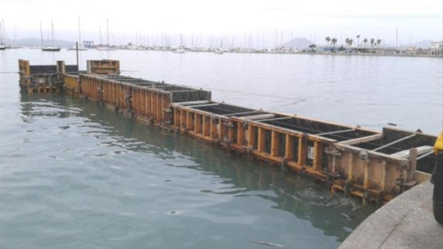"Umweltschützer zeigen ""illegalen"" Bau von Bootssteg in Port de Pollença an"