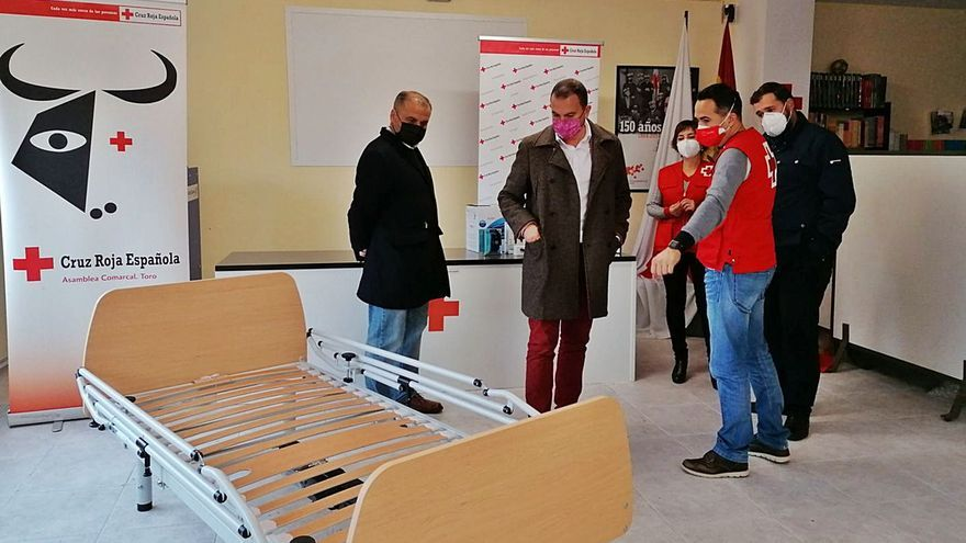 Cruz Roja y Cáritas reciben apoyo de la DO Toro ante la creciente demanda de ayudas