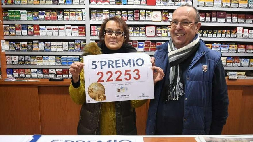 Un reguero de felicidad y décimos por la provincia coruñesa