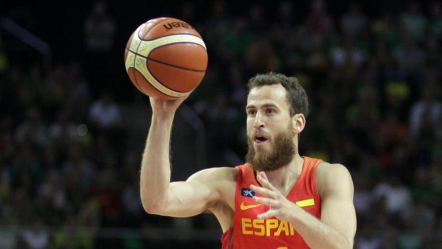 Sergio Rodríguez jugará con España ante Ucrania y Letonia