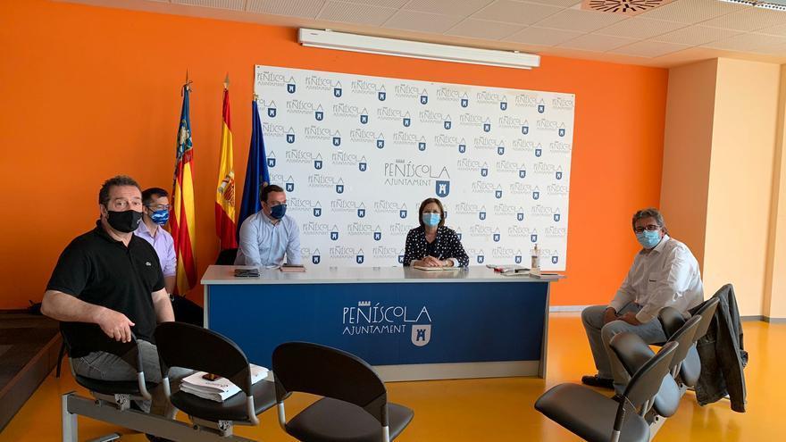 Apoyo empresarial a la rotonda entre Peñíscola y Benicarló