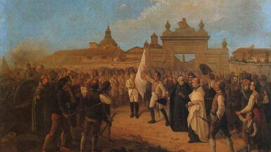 Aragón se levanta contra Napoleón