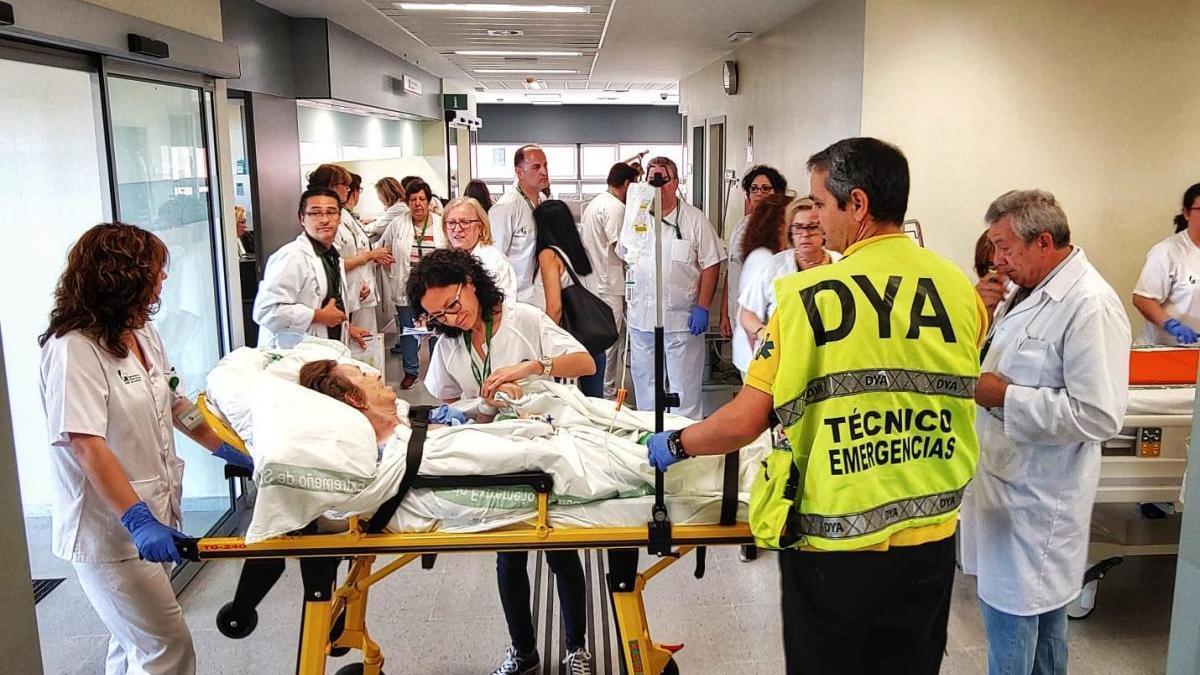 El nuevo hospital de Cáceres ya cuenta con 59 enfermos ingresados