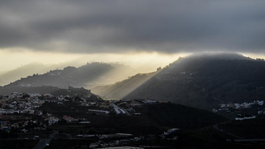 El frente frío causará una inusual bajada de temperaturas en Canarias