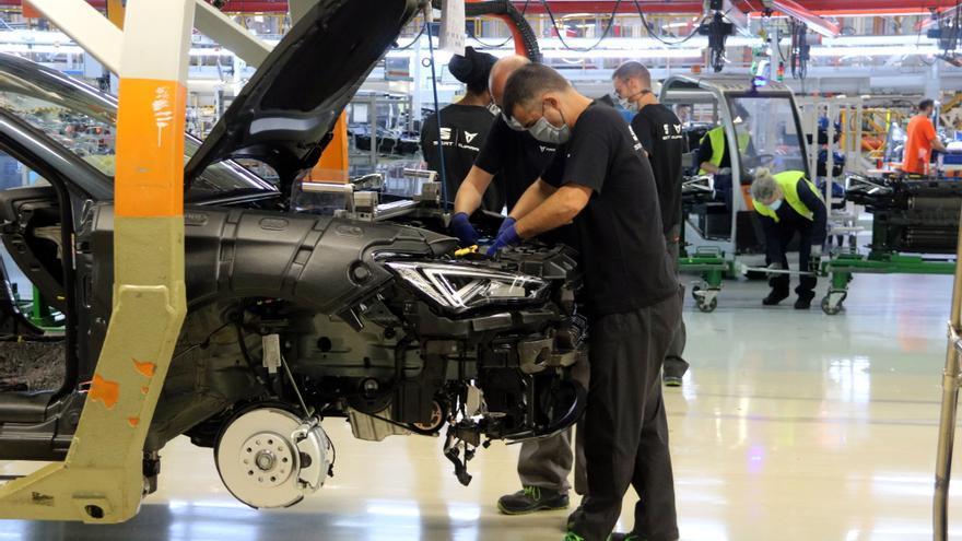 Seat aturarà la producció a la planta de Martorell els dies 6 i 7 de setembre per la falta de semiconductors