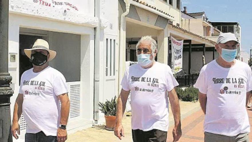 Vecinos de Torre la Sal preparan una manifestación en Castelló