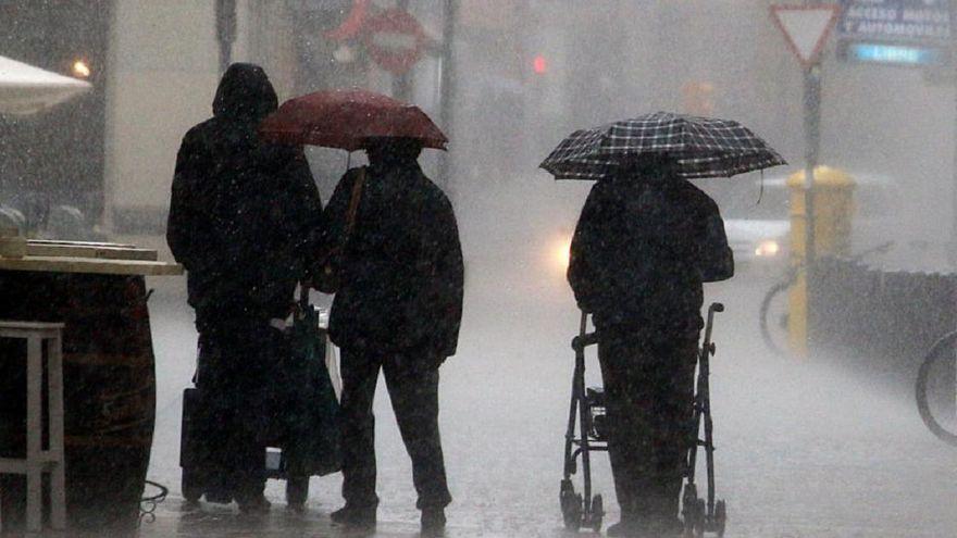 Málaga afronta varias jornadas de lluvia en la segunda mitad de la semana