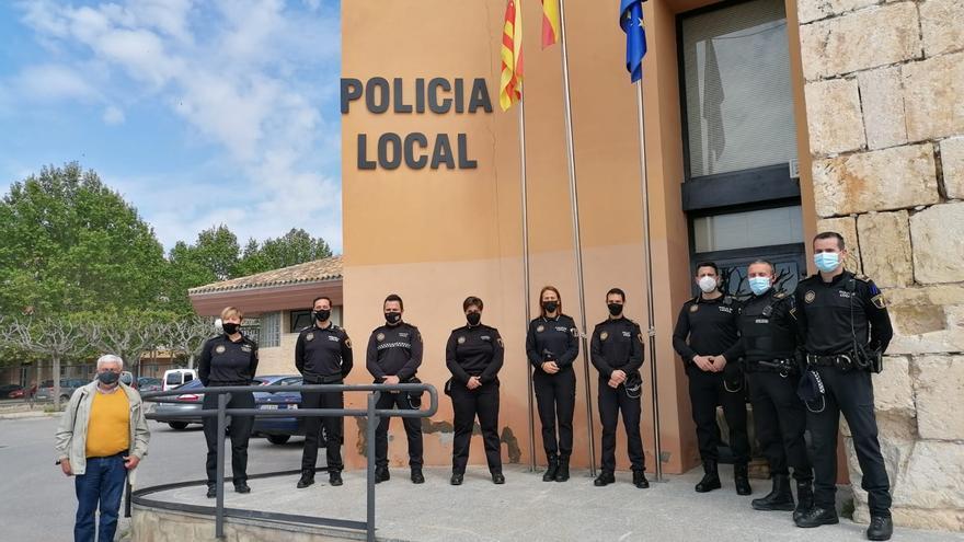 Cinco nuevos policías locales en la plantilla de Villena