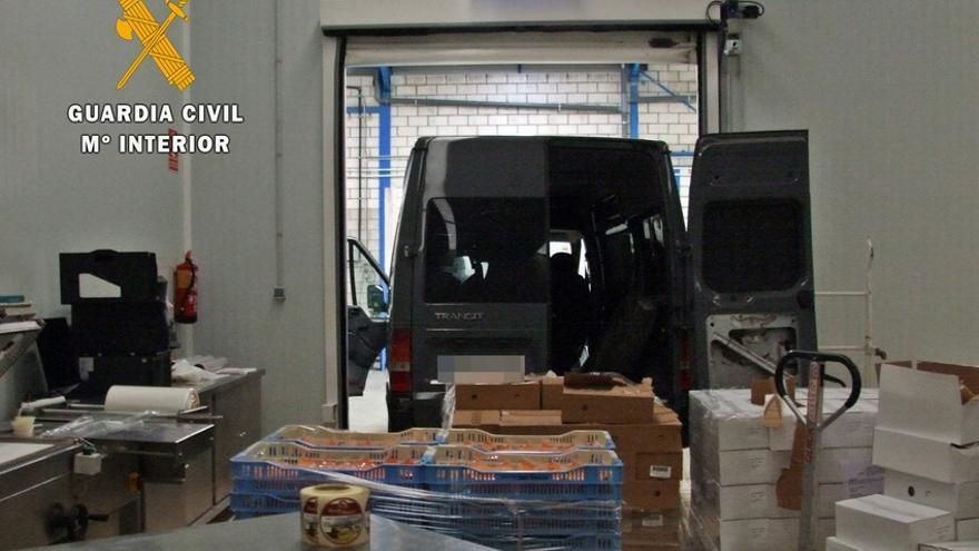 Tres detenidos por robos en fábricas de Castuera