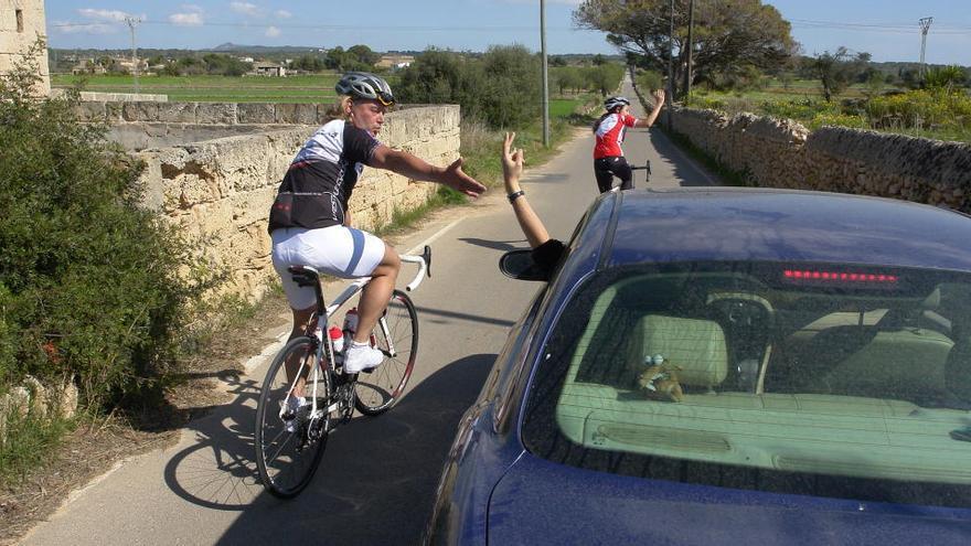 So dürfen Autos künftig Radfahrer auf Mallorca überholen