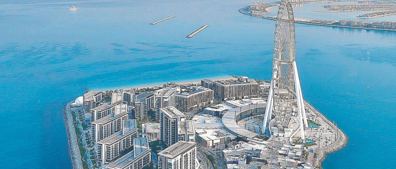 Dubái inaugura la noria más grande del mundo que rechazó València