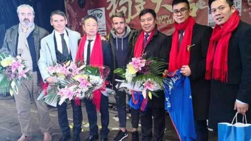El Oviedo, en la celebración del Año Nuevo chino