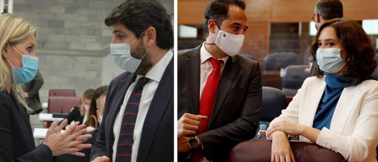 ENCUESTA | ¿Crees que la ruptura entre el PP y Ciudadanos en Madrid y Murcia se replicará en Castilla y León y Andalucía?