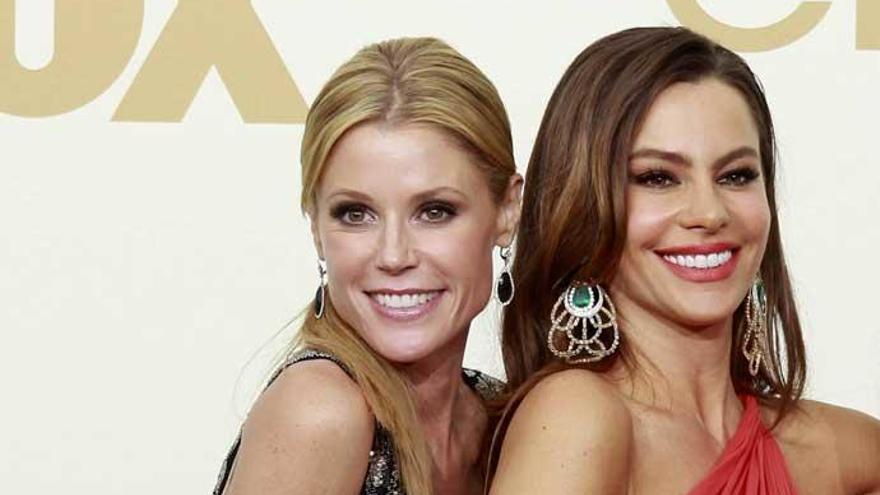 Sofía Vergara y Julie Bowen, de 'Modern Family', unidas por sus braguitas