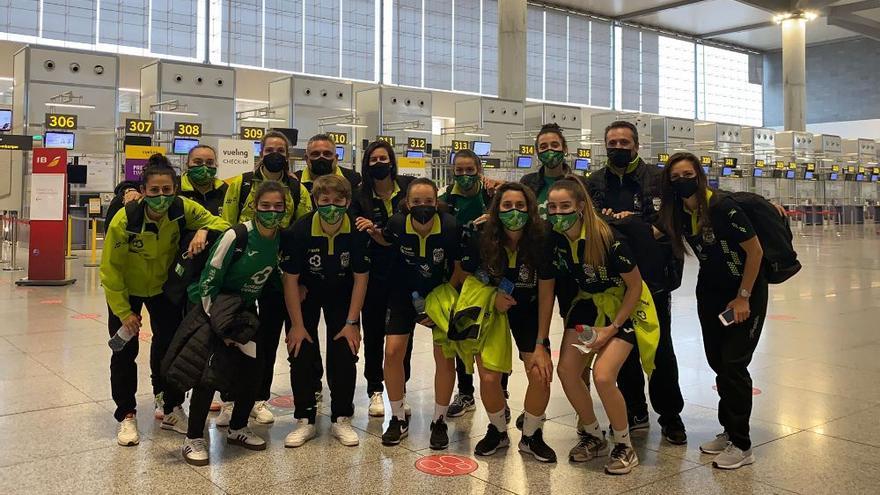 El mal tiempo deja al Deportivo sin viajar a Melilla