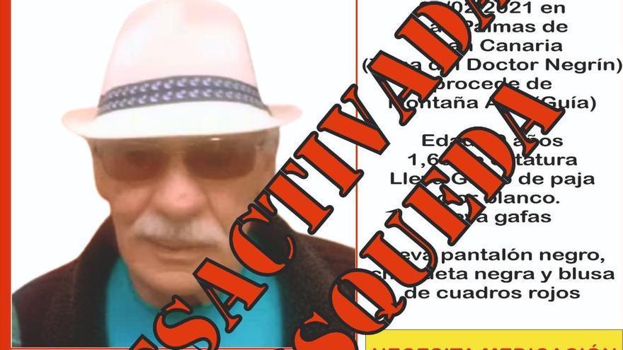 Aparece en buen estado de salud José Medina Díaz
