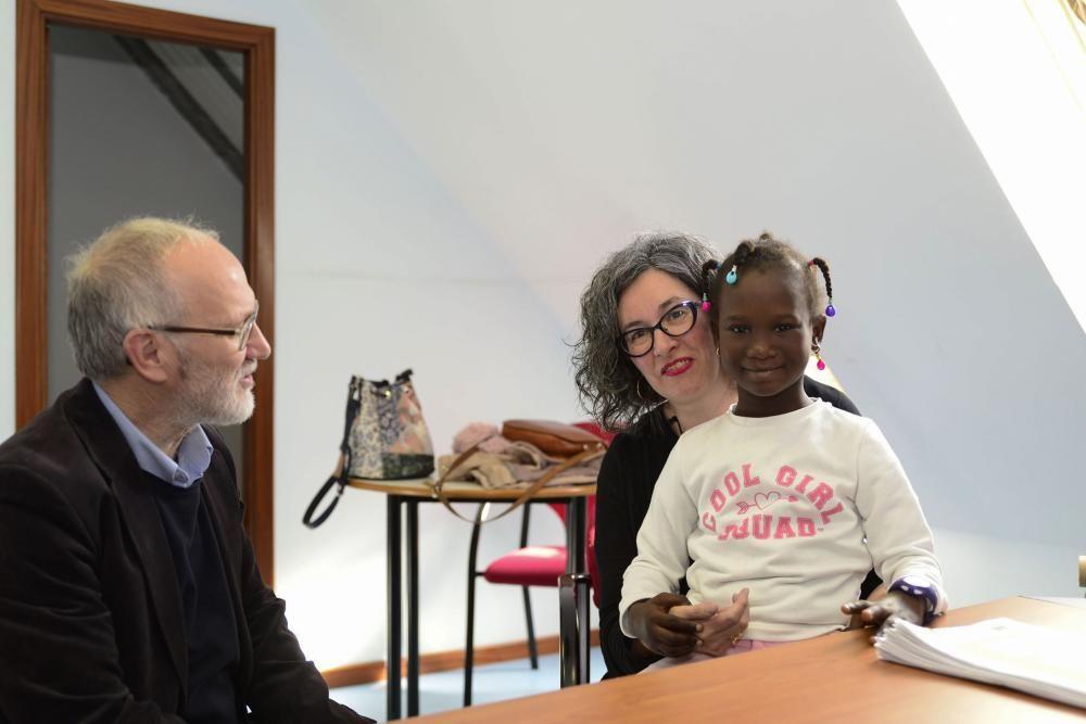 El viaje hacia la vida de Fatimatou en A Coruña