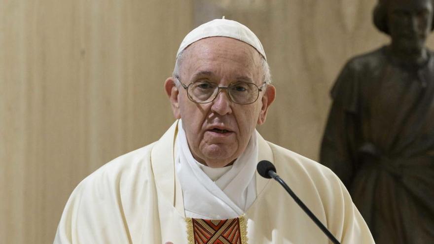 """El Papa denuncia este 1 de mayo el trabajo """"mal pagado"""""""