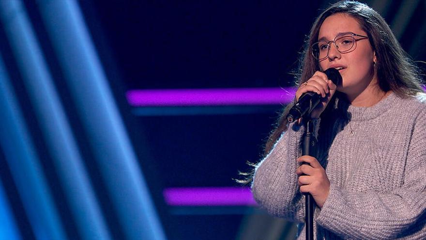 Auba Murillo cantará 'Love of my life' de Queen esta noche en la semifinal de La Voz