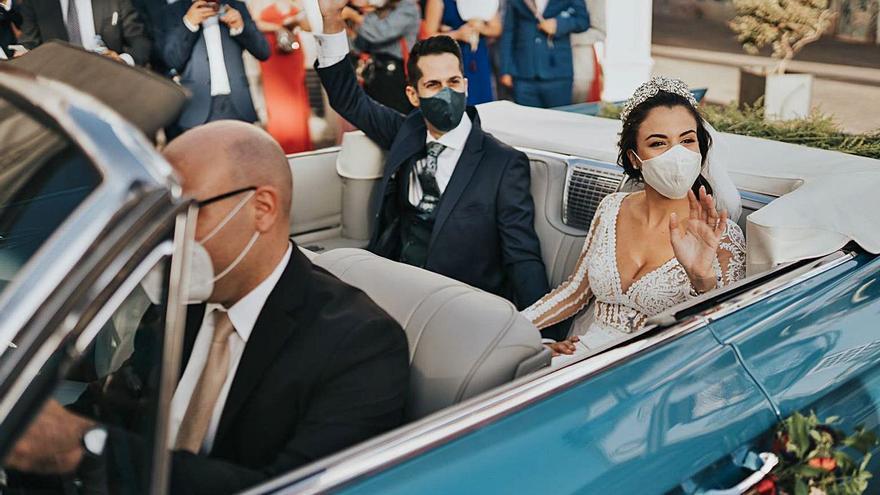 La pandemia encarece las bodas y aplaza la reactivación del sector a 2022