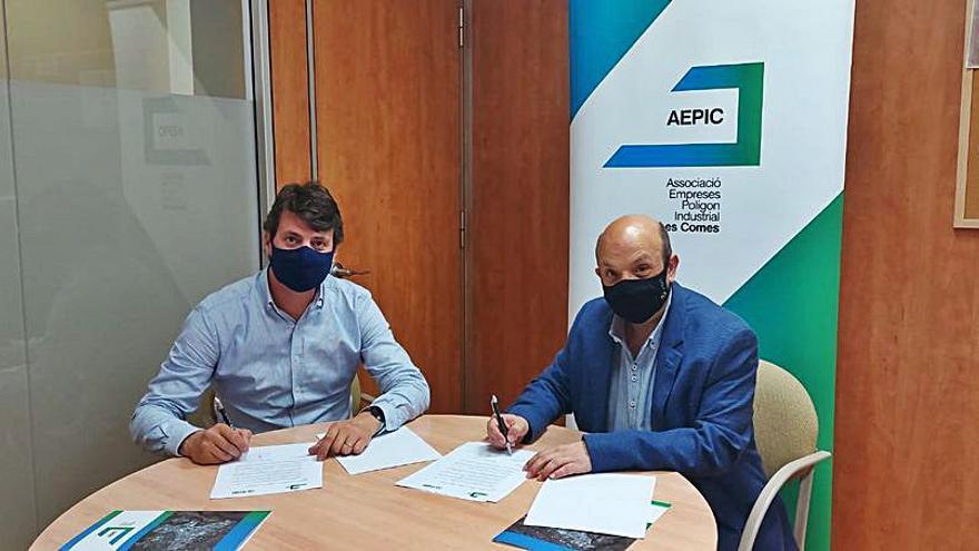 L'AEPIC signa un acord amb CGM per oferir un servei de deixalleria de proximitat per abocar els residus a Les Comes