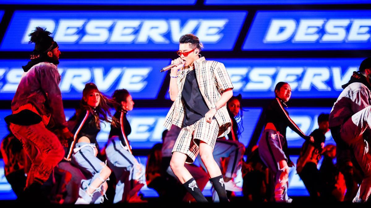 El cantante chino-canadiense Kris Wu.