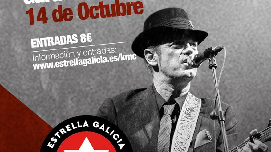 Juan Perro encabeza los conciertos de Km C Estrella Galicia este mes en A Coruña