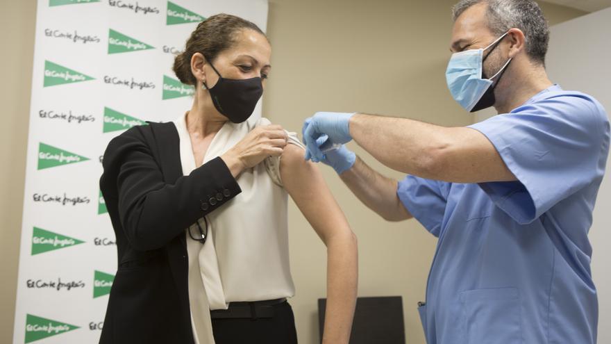 Empieza la vacunación contra el covid en empresas de la provincia de Alicante