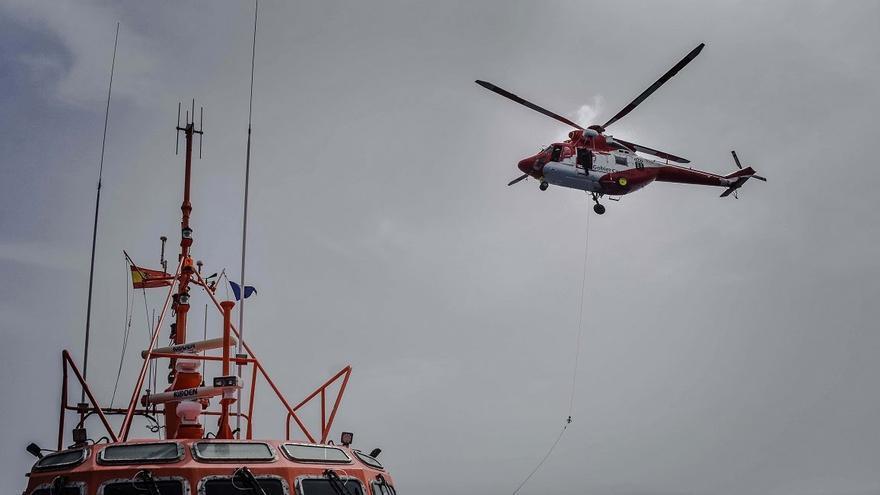 El supuesto vertido de gasoil al mar cerca de Arrecife queda en un susto