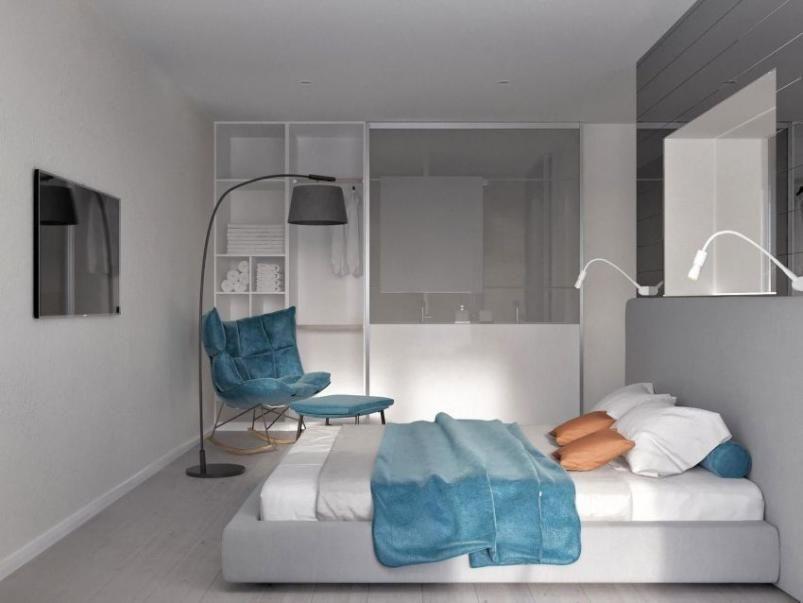 Habitación de un hotel en el mercado, situado en Playa de las Américas, Tenerife.