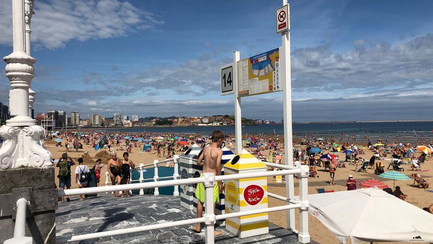 Asoma el verano en Asturias: los termómetros marcan 26 grados y el calor llena las playas