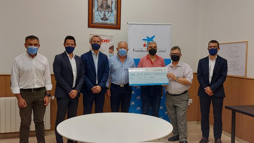 Caritas Mutxamel recibe 5.000 euros de la Fundación La Caixa
