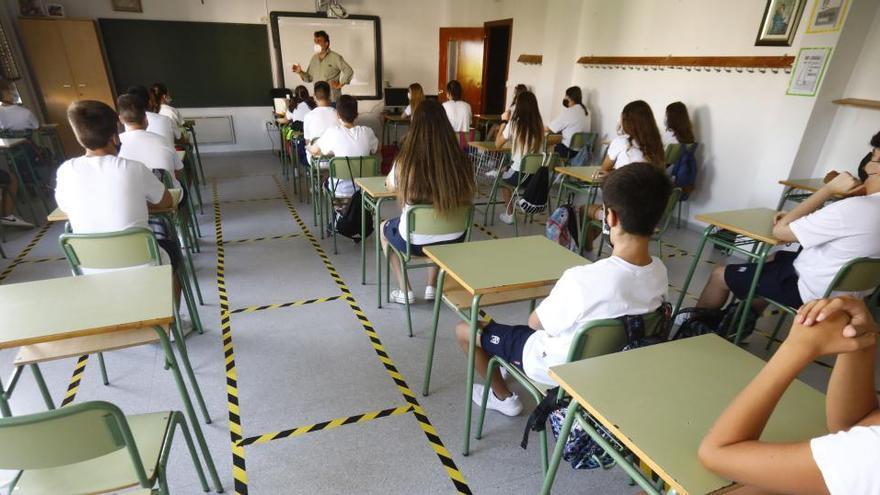 El 99,3 % de los grupos de alumnos de los centros educativos finalizan sin incidencias la quinta semana del curso