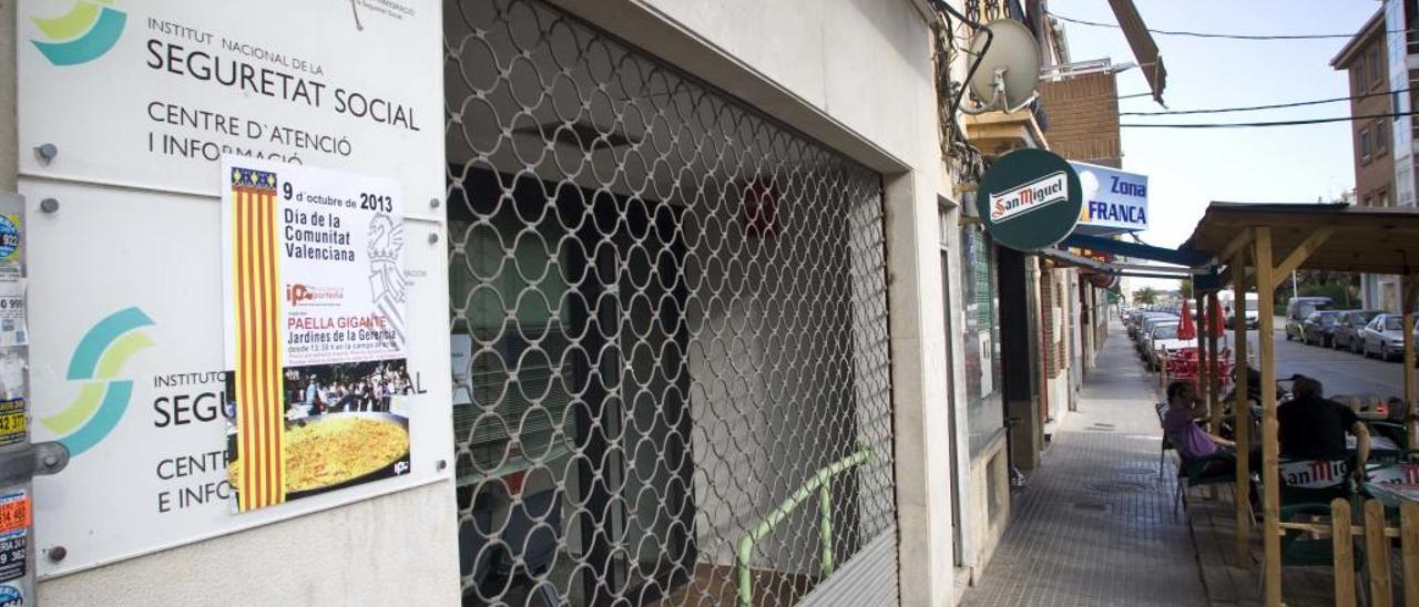 Insisten en Madrid con la reapertura de la oficina de la Seguridad Social del Port