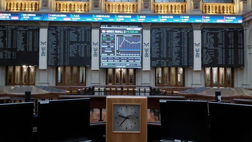 El Ibex 35 cierra con un alza de casi el 6,5% una de sus mejores semanas de 2020