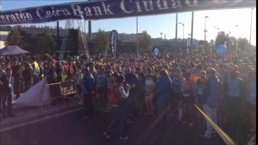La Media Maratón de Málaga homenajea a Pablo Ráez