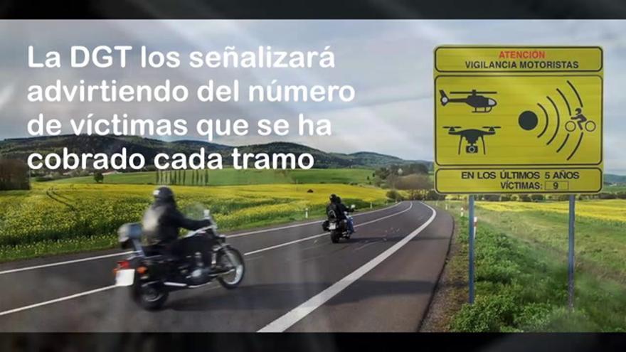 VÍDEO   Los seis 'puntos negros' de las carreteras de Castellón para los motoristas