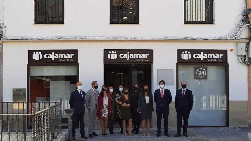Cajamar rehabilita un edificio histórico para su nueva sede en Ronda