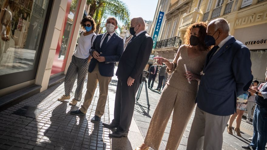 Santa Cruz descubre placas en las cuatro sedes históricas del CD Tenerife