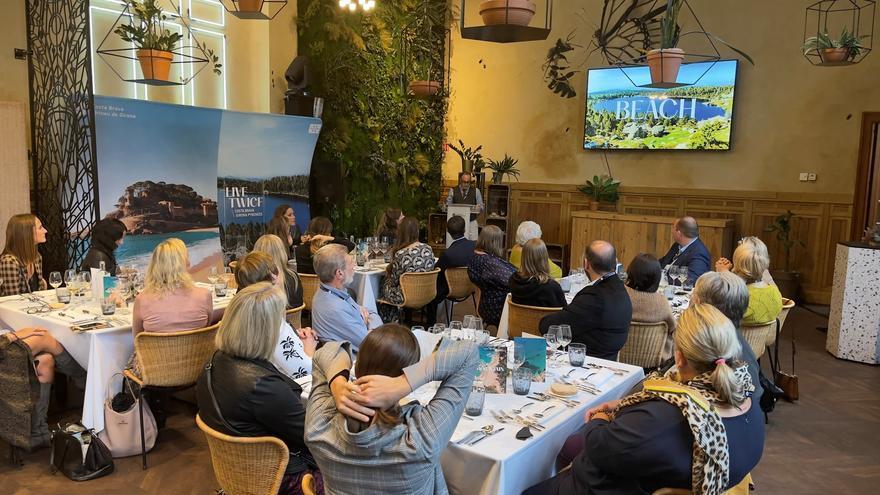 La Costa Brava reprèn la seva promoció turística al mercat belga per incidir en la temporada 2022