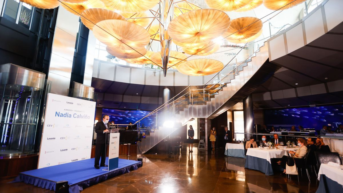 La política y la economía valenciana se dan cita en el coloquio de la vicepresenta Nadia Calviño que organiza Levante-EMV