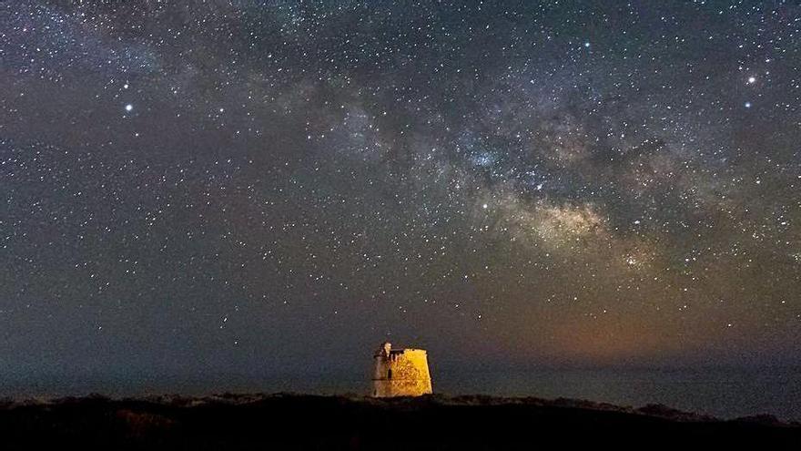 El cielo de Formentera es ideal para la observación. | FÉLIX MAYANS