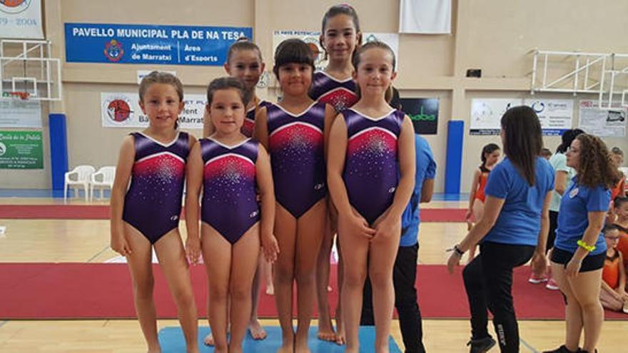 El CG Sant Rafel se trae de Palma seis medallas de la Copa Balear