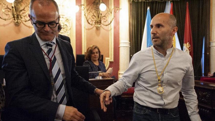 Pérez Jácome, en el limbo: el PP rompe el pacto de gobierno en Ourense