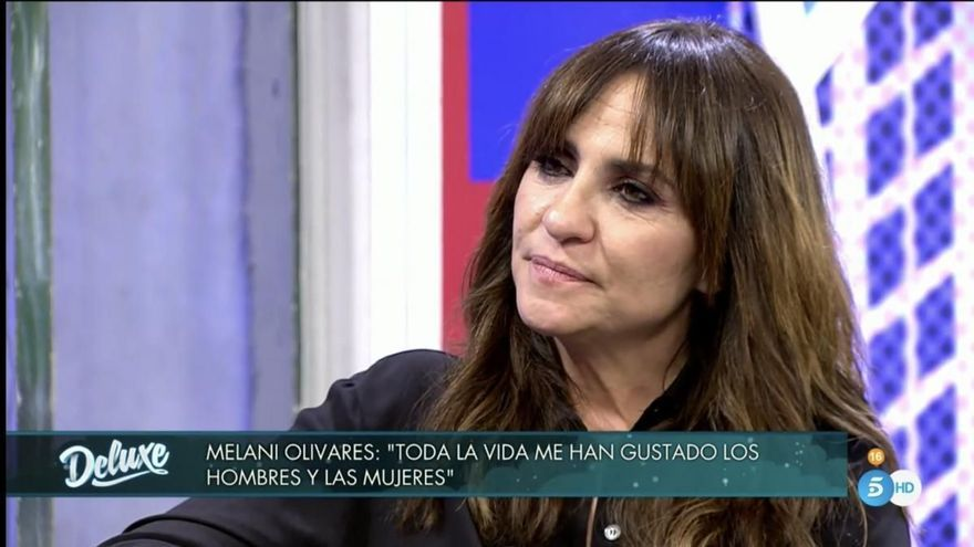 Melani Olivares da a conocer su bisexualidad en 'Sábado Deluxe'