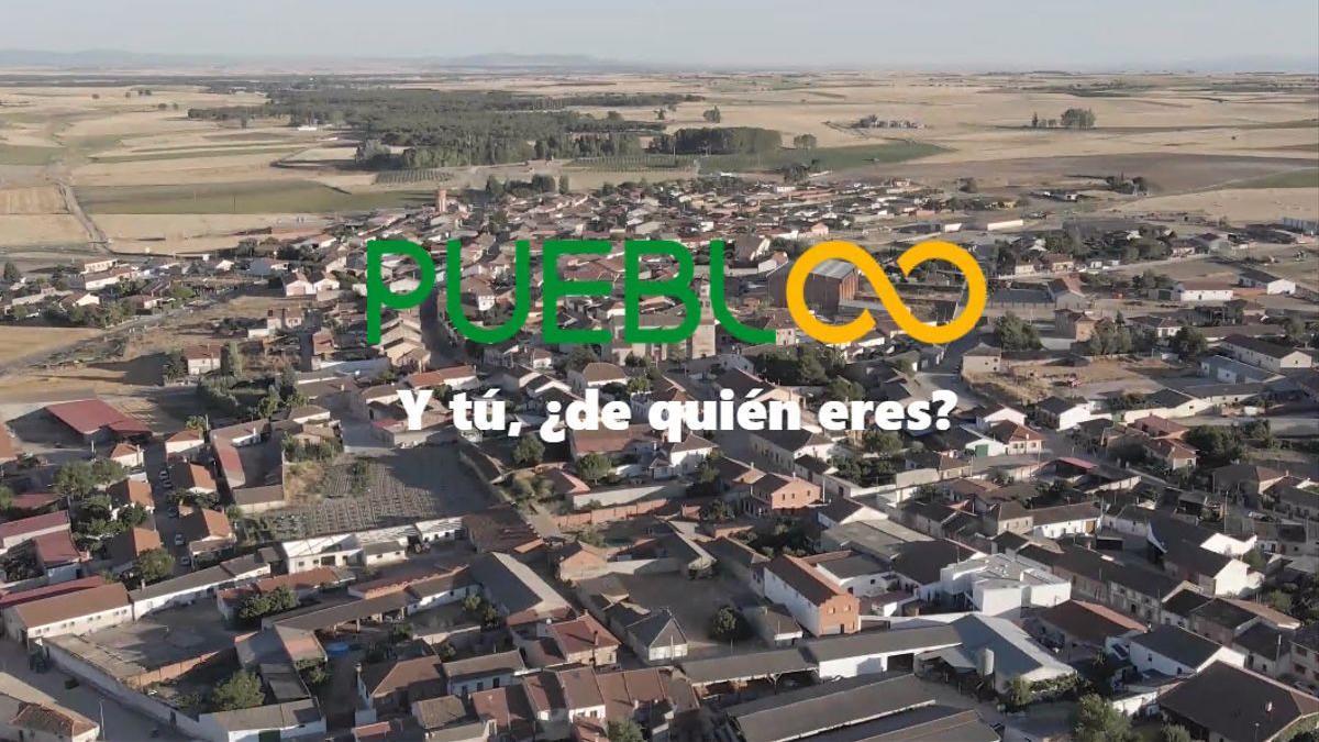 Página de inicio de la nueva red social Puebloo, para luchar contra la despoblación.